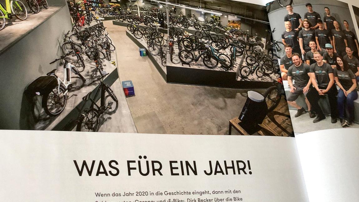 Die Bike Villa im Vivart-Magazin